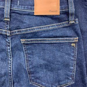"Madewell 10"" High Rise Skinny Jean Size 28 NWT"